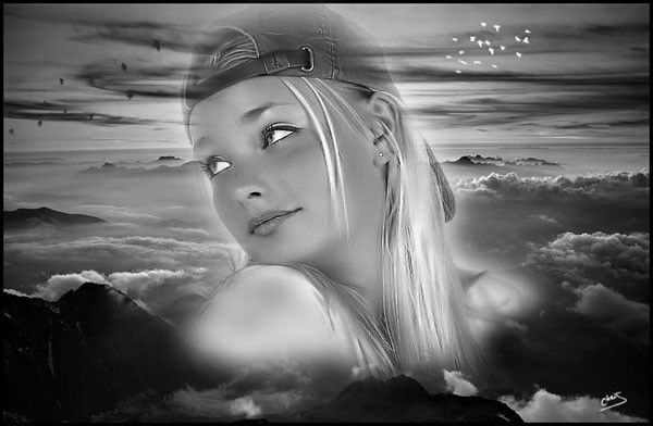 Mes cr as d 39 images romantiques - Photo romantique noir et blanc ...