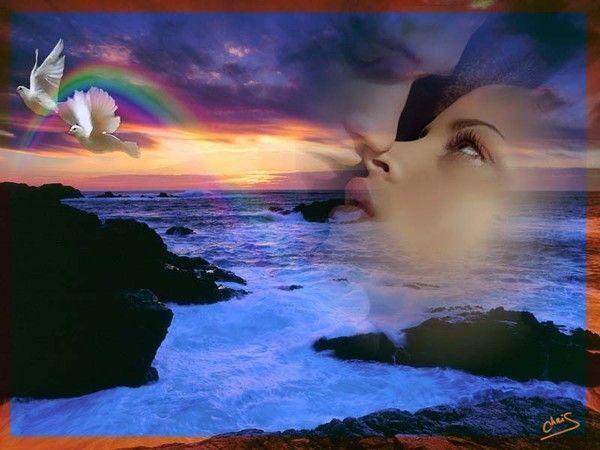 mes créas d'images romantiques